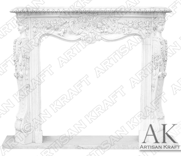 West Virginia Victorian Fireplace Mantel