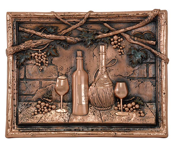 Wine-Tasting-Copper-Mural-Backsplash