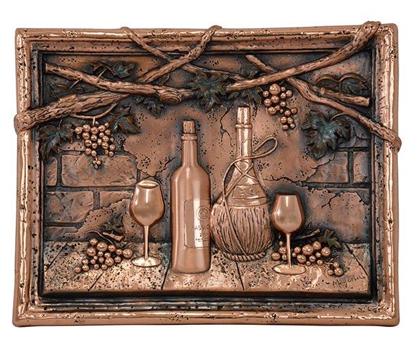 Wine-Tasting-Copper-Mural-Backsplash