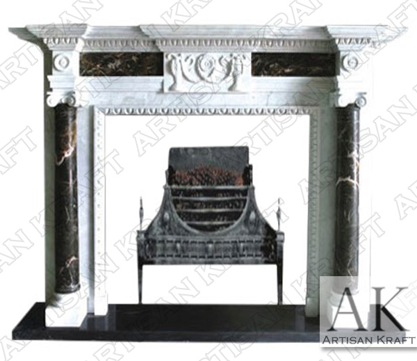 Yorkshire Marble Fireplace Mantel